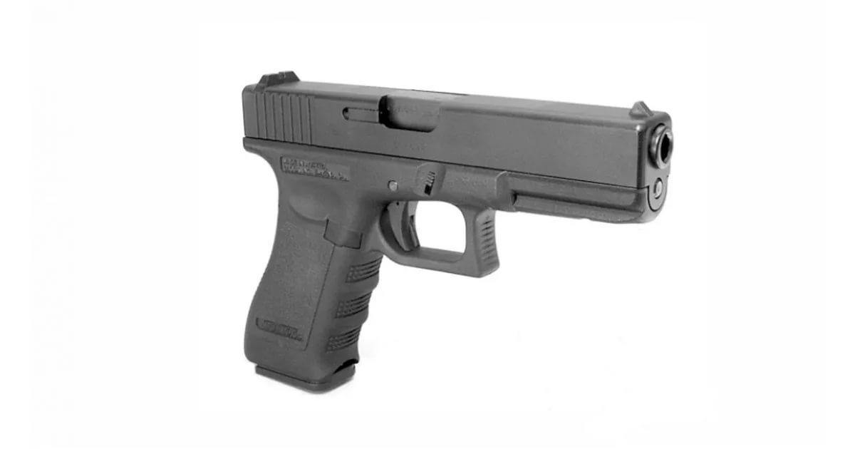 KJW Пистолет Glock 17, CO2 (cp611)