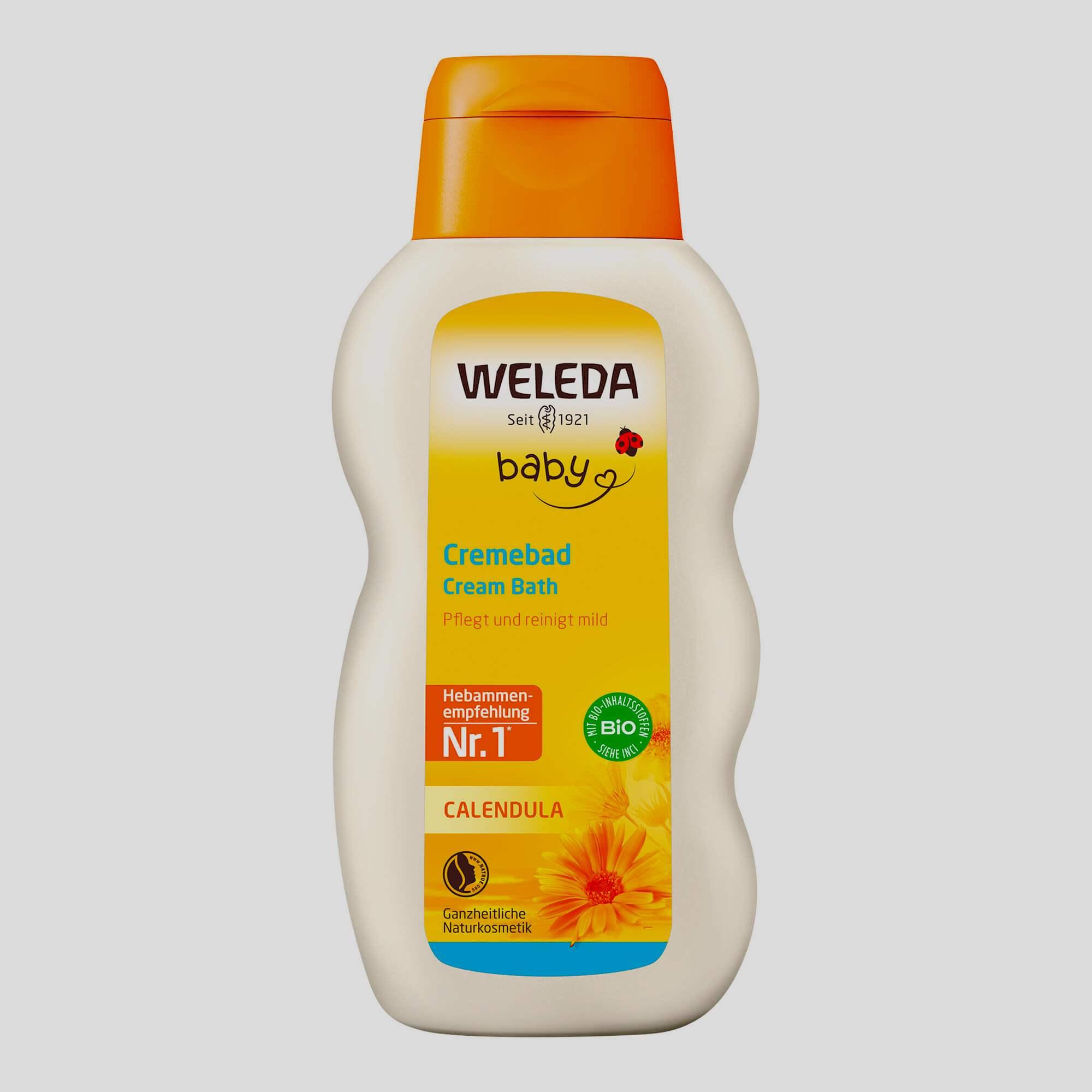 Weleda (с календулой и отварами трав)