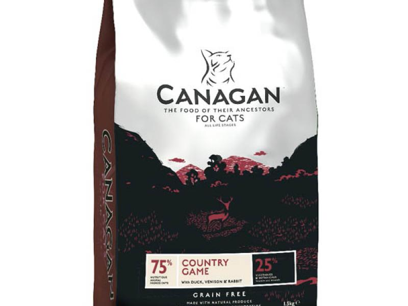 Canagan Country Game Cat Duck, Venison&Rabbit Grain Free