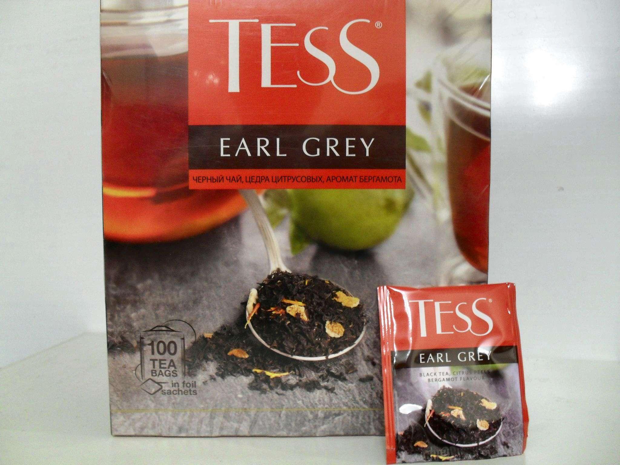 Tess Earl grey победитель и фаворит народного голосования «Контрольной закупки»