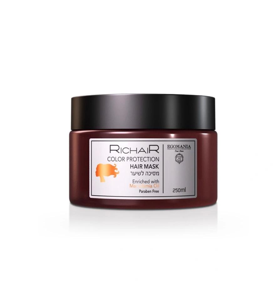 Richair. Защита цвета с маслом макадами Egomania