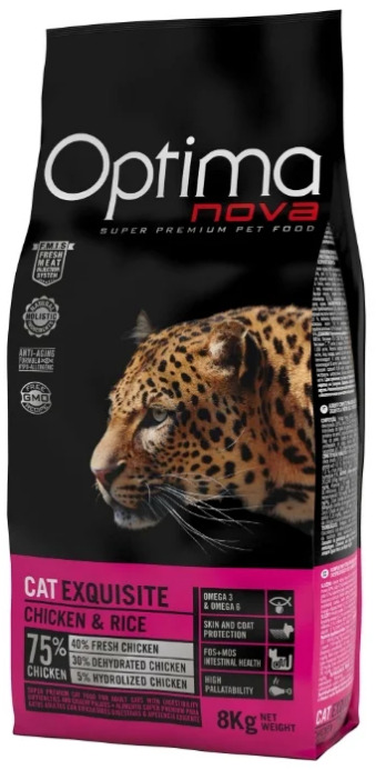 Optima Nova Adult Cat Exguisite Chicken&Rice