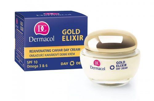 DERMACOL Gold Elixir Rejuvenating Caviar – плотный регенерирующий крем