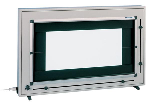 Planilux DXH 140х43 двухкадровый негатоскоп со шторками для маммографии