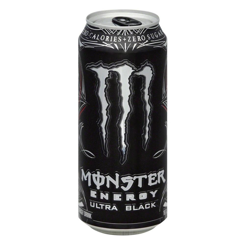 Monster Energy Black Ultra
