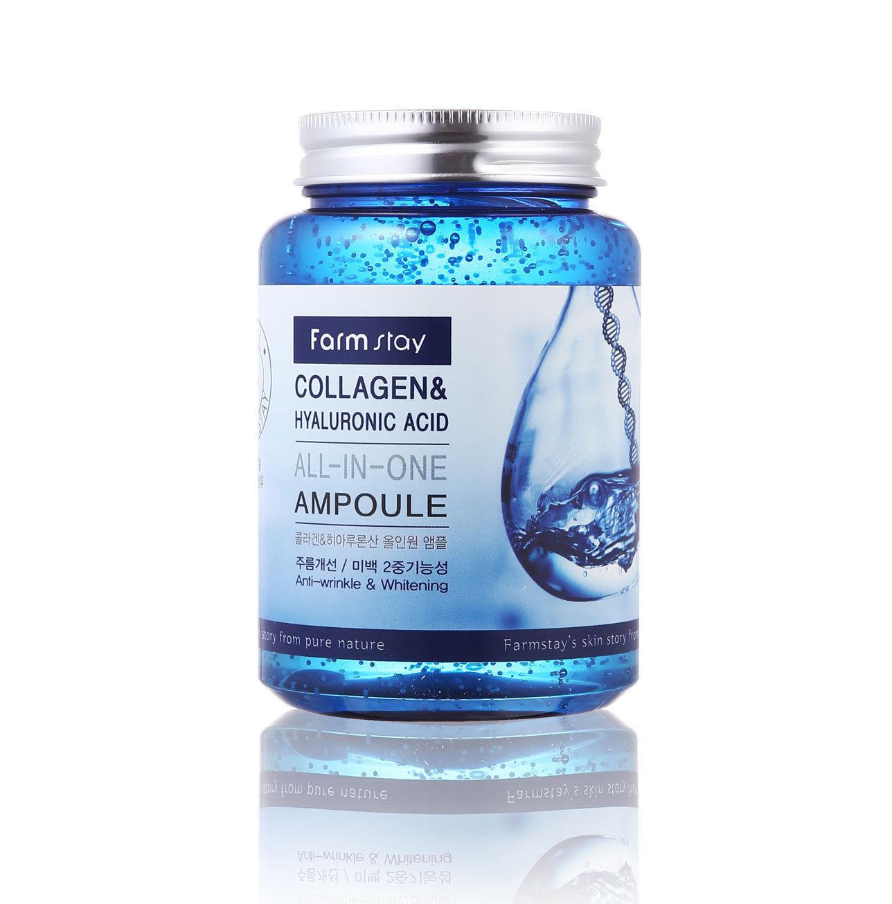Farmstay All-In-One Ampoule Collagen & Hyaluronic Acid