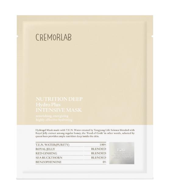 Cremorlab Nutrition Deep Hydro Plus Intensive Mask