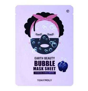 Тканевая маска Earth Beauty Bubble Sheet Mask