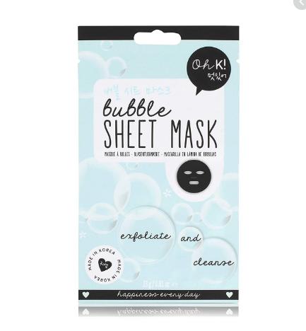 Oh K! Exfoliating Bubble Sheet Mask