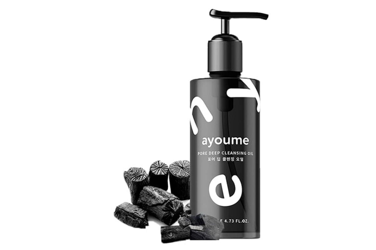 Ayoume Гидрофильное масло Древесный уголь – глубокая очистка пор