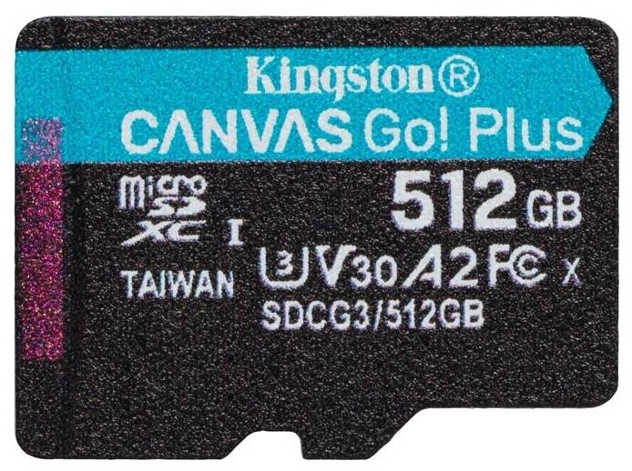 Kingston Canvas Go! SDCG3/512GBSP