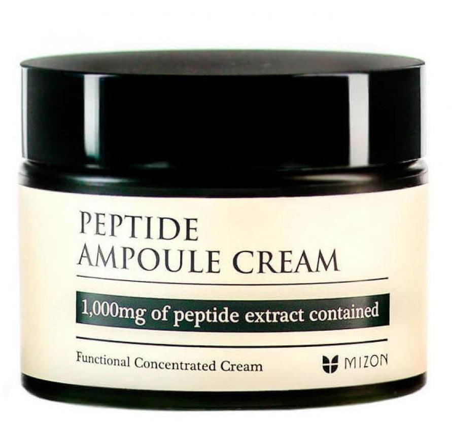 Mizon Peptide Ampoule Cream антивозрастной с пептидами