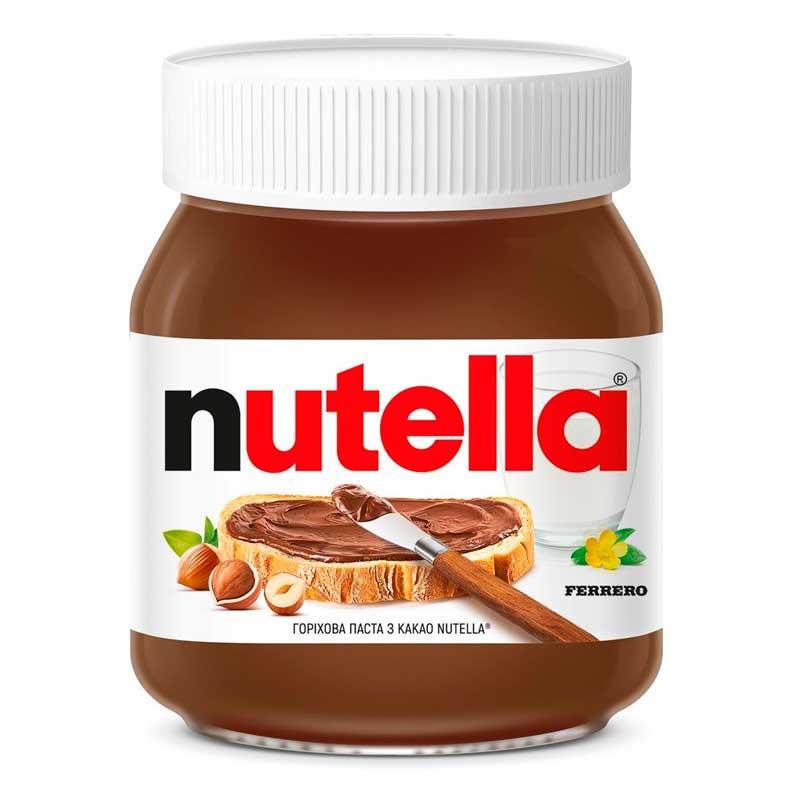 Nutella с орехами и какао