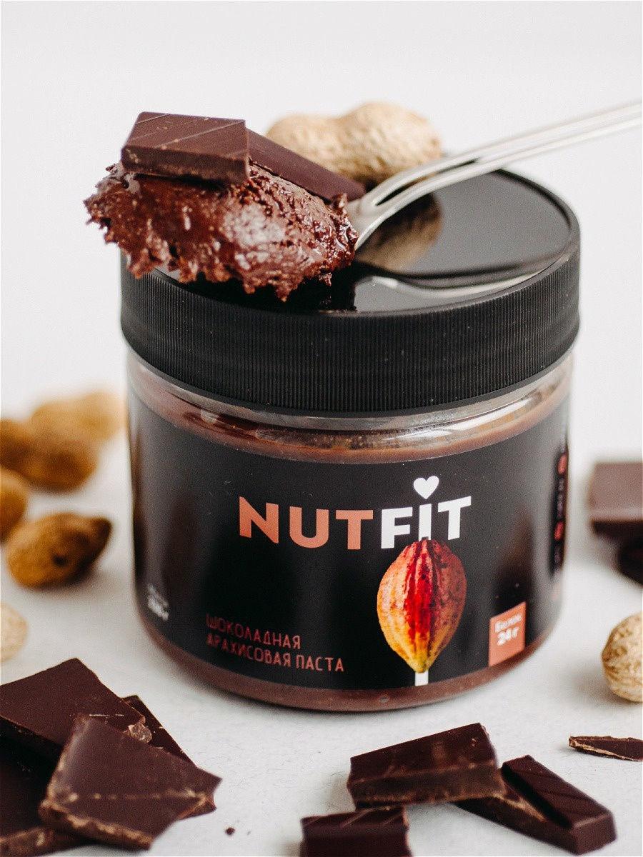 Шоколадная паста NUTFIT с медом
