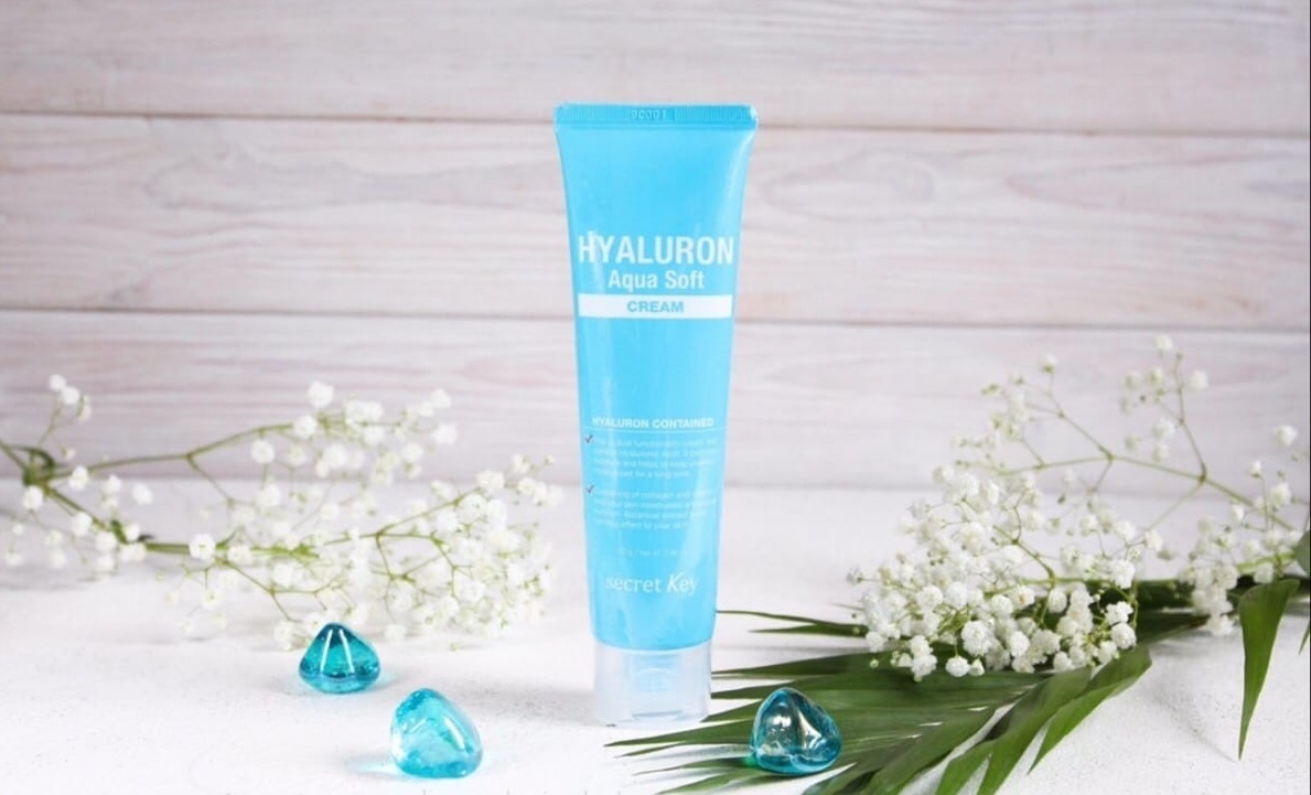 Secret Key Hyaluron Aqva Soft Cream гиалуроновый