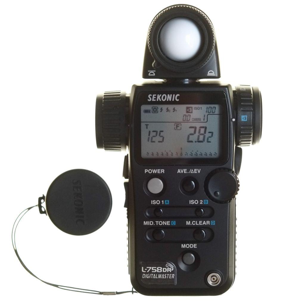 Sekonic L-758DR Flash Master