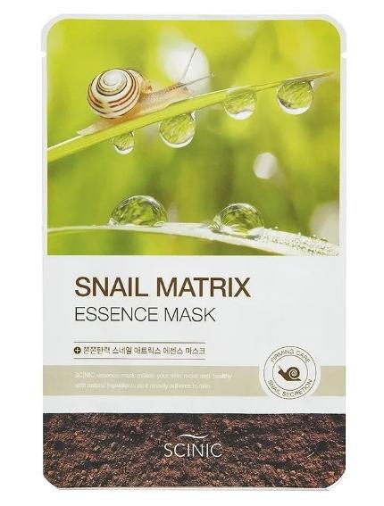 Scinic Snail Matrix Essense Mask