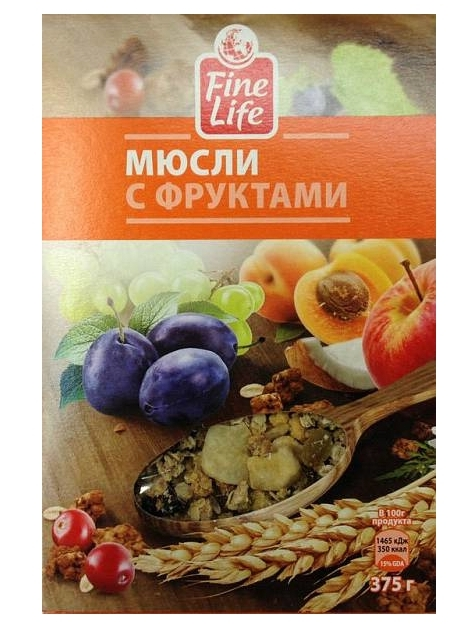 FINE LIFE с фруктами