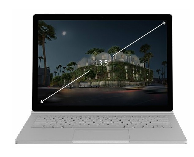 Microsoft SurfaceBook 2 13.5