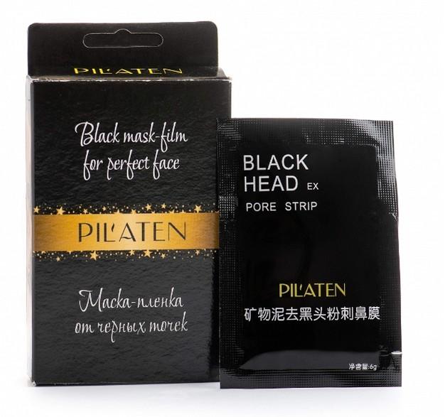 Очищающая маска Pilaten с черной тубой