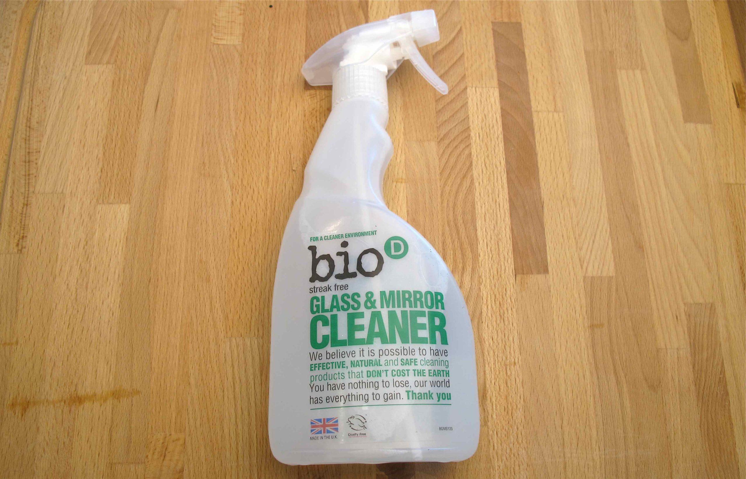 Bio-D спрей для чистки стекла и зеркал