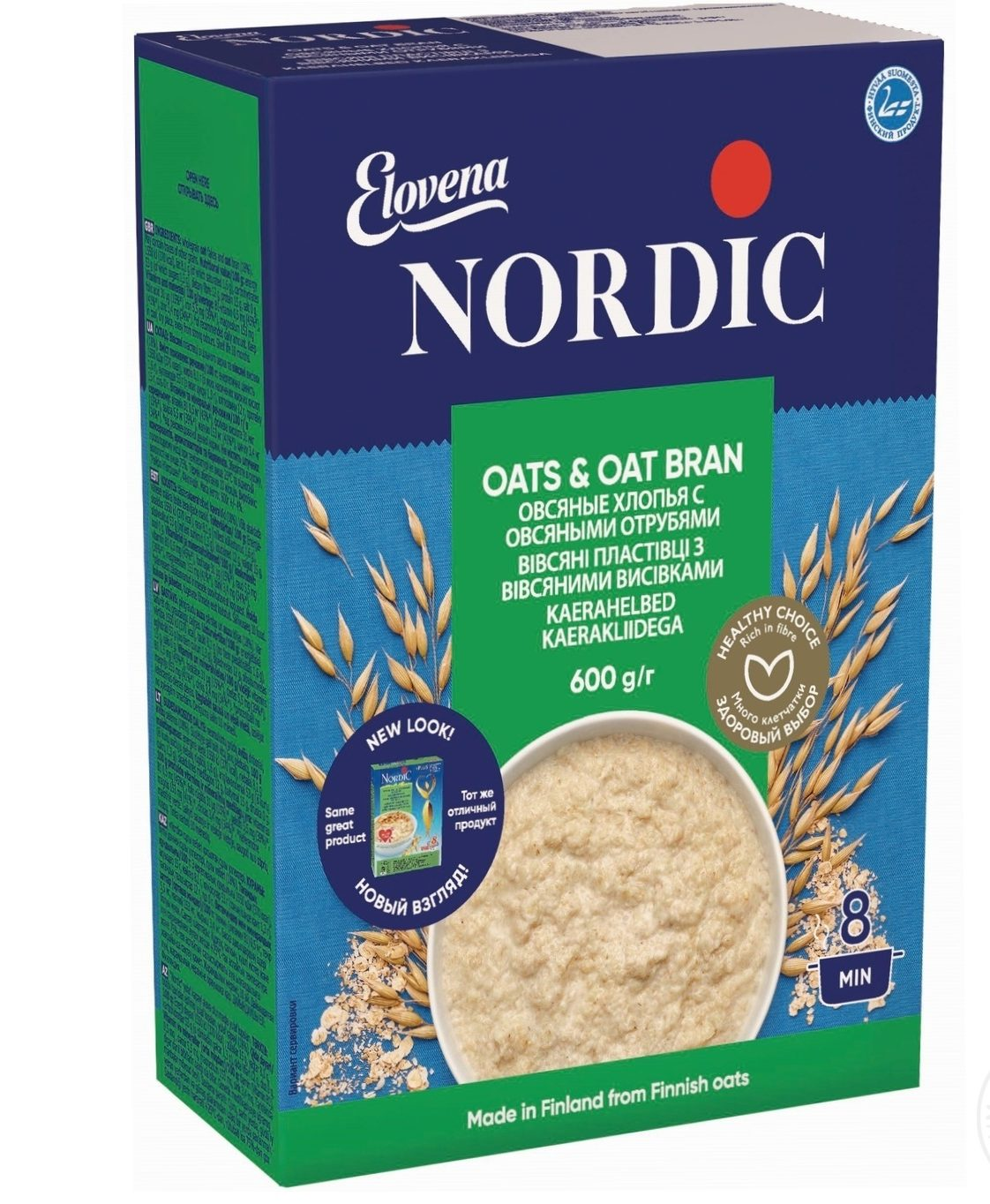 Nordic с отрубями