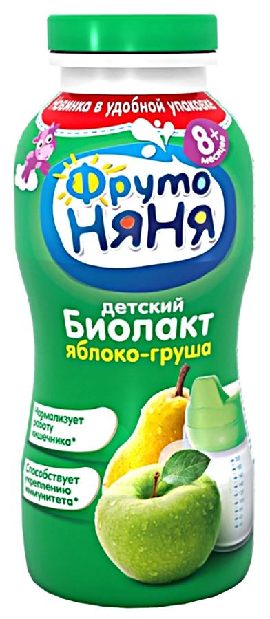 Биолакт Фруто Няня яблоко, груша 2, 9%