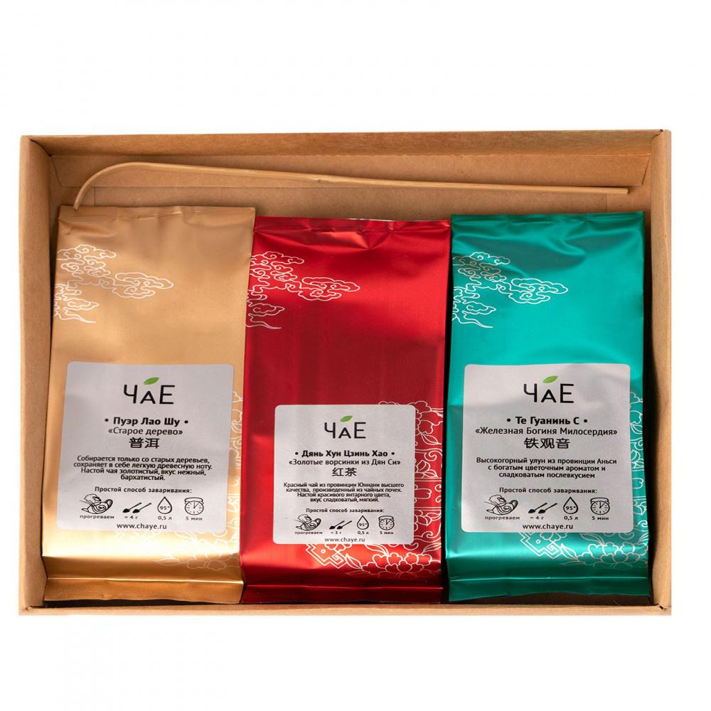 Набор эксклюзивного чая «ЧаЕ» в подарочной упаковке