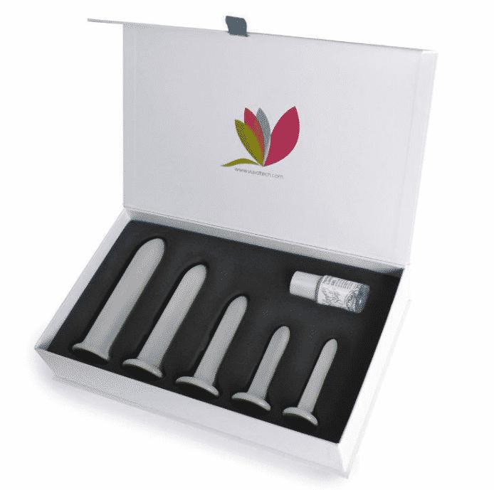 Full Grey Rectal Magnetic Dilator Set
