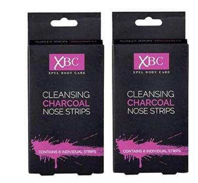Очищающие полоски для носа с углем Xpel Body Care