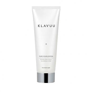 Klavuu Pure Pearlsation Revitalizing Facial Cleansing Foam – пенка для умывания с экстрактом жемчуга
