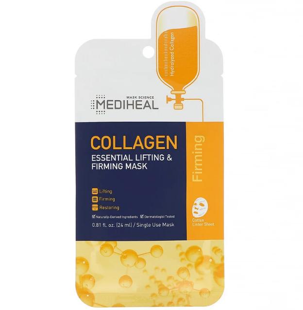 Тканевая маска Mediheal Collagen Essential Lifting & Firming Sheet Mask