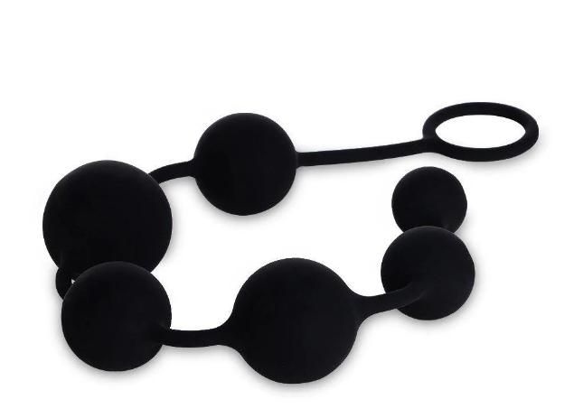 Силиконовые анальные шарики Utimi