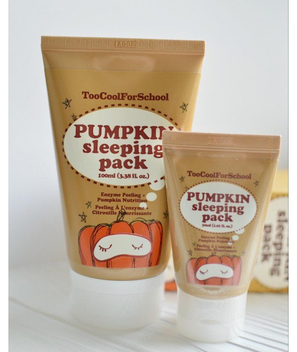 C экстрактом тыквы Too Cool For School Pumpkin Sleeping Pack