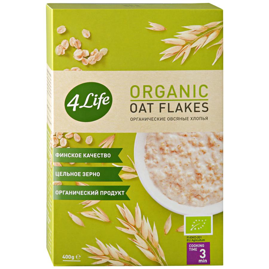 Organic oat flakes 4Life