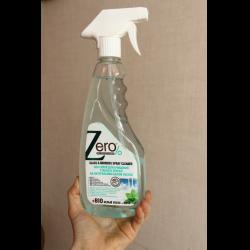 Спрей Zero% для очищения стекол и зеркал на натуральном белом уксусе + мята