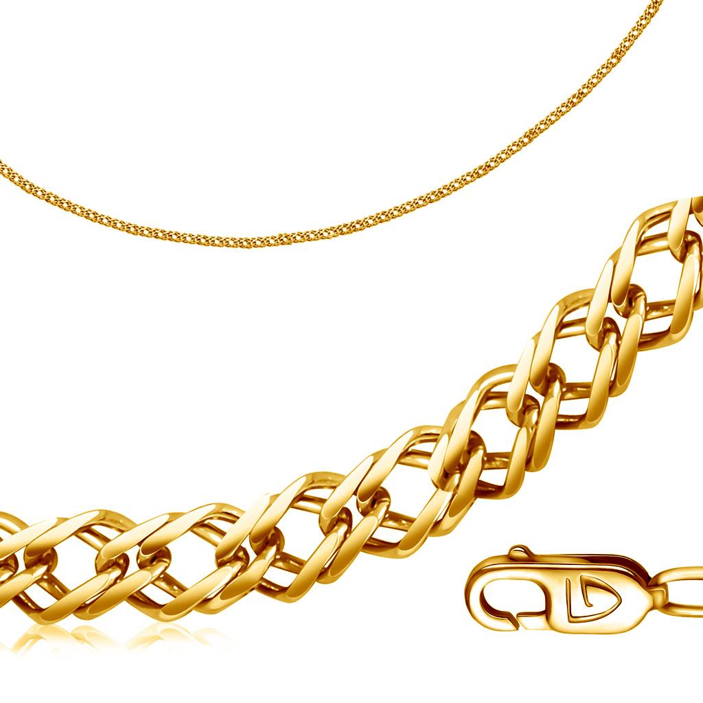 Браслет из желтого золота компании Броницкий ювелир