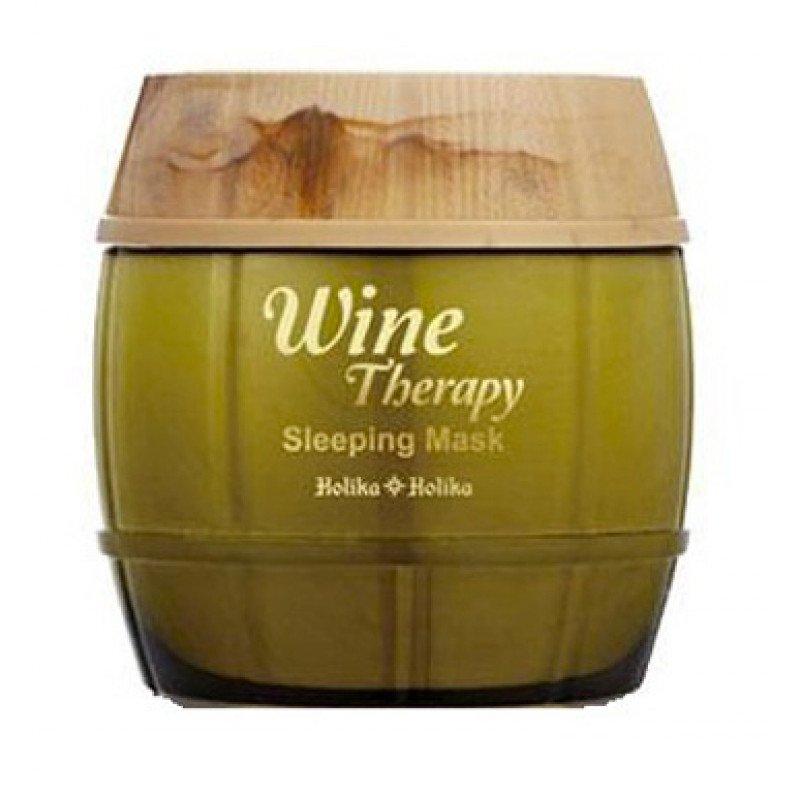 C белым вином Holika Holika Wine Therapy Sleeping Mask White Wine