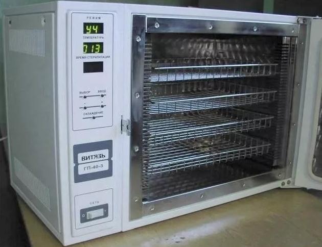 Стерилизатор воздушный Витязь ШСТ-ГП40-410
