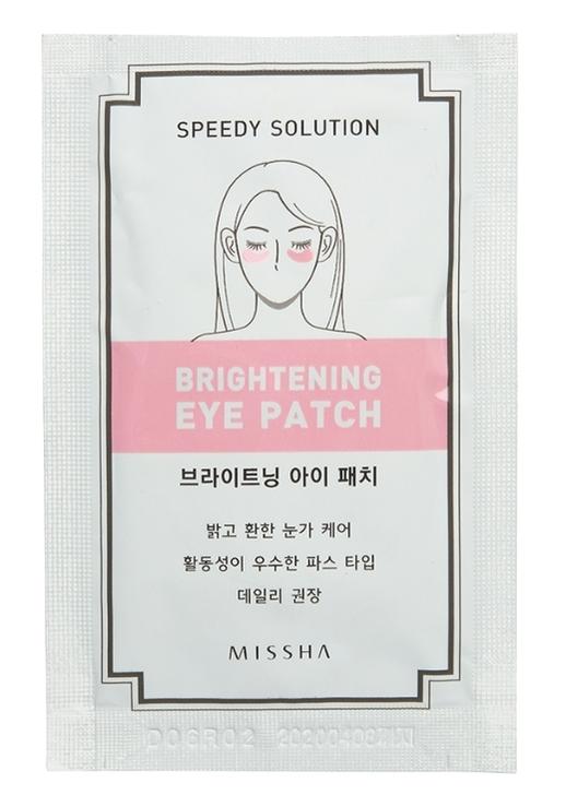 Гидрогелевые патчи Missha Speedy Solution Brightening eye patch