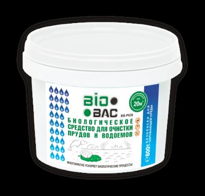 Средство для водоема BioBac Биологическое средство для очистки прудов и водоемов ВВ-Р030 5 кг