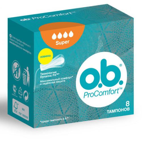 o.b. ProComfort Super, 8 шт.