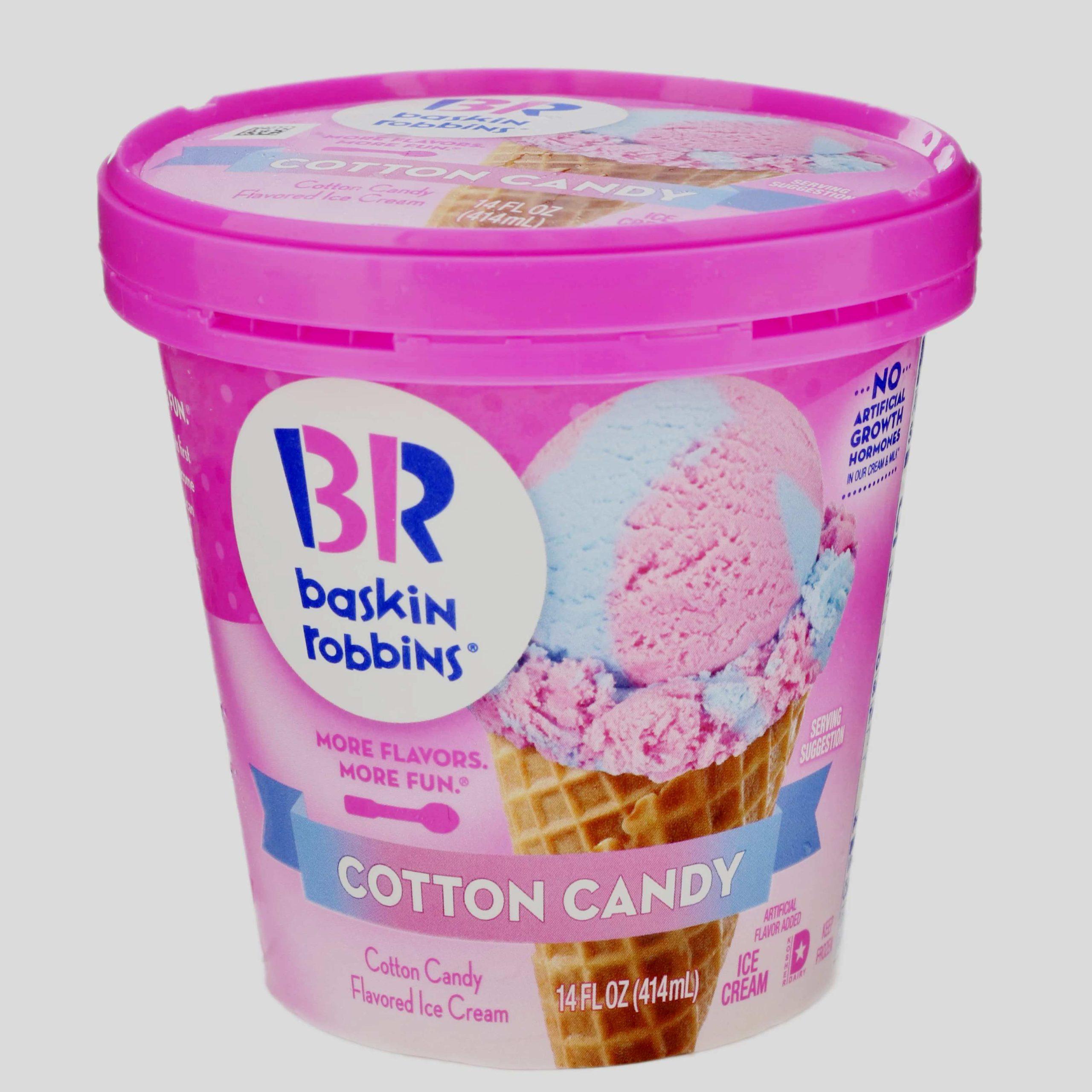 Baskin Robbins сливочное - Волшебные леденцы