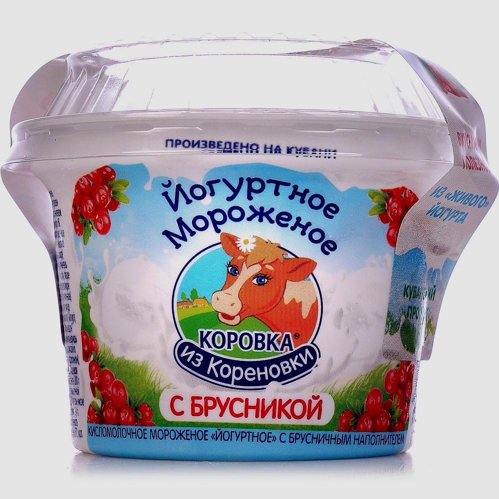Коровка из Кореновки Мороженое с брусникой