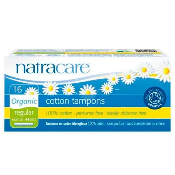 Natracare Regular Organic Cotton, 16 шт.