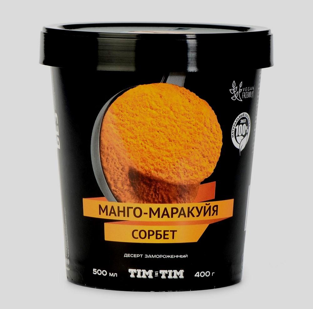 Сорбет Tim & Tim манго/маракуйя