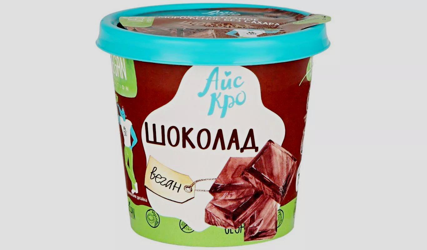 Веганское Шоколад 75 гр. АйсКро