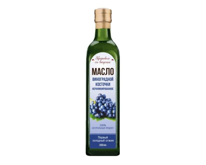Здоровье со вкусом масло виноградной косточки 0.5 л