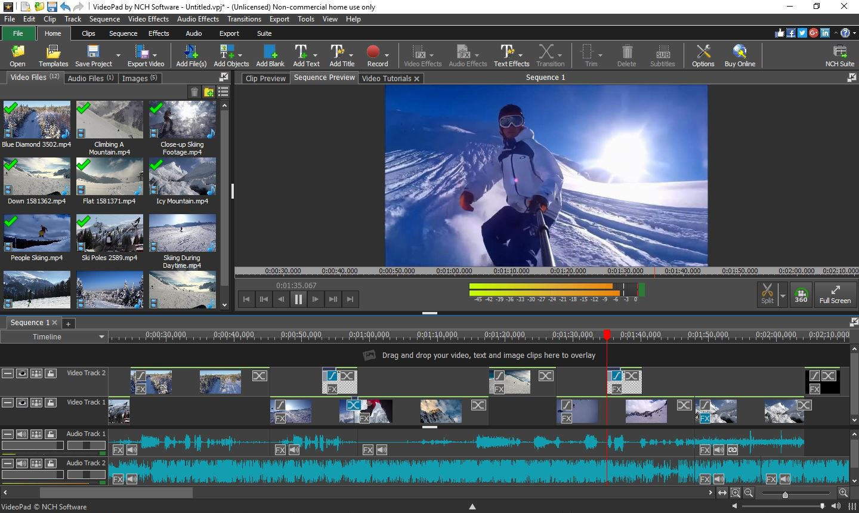 Video Pad Video Editor