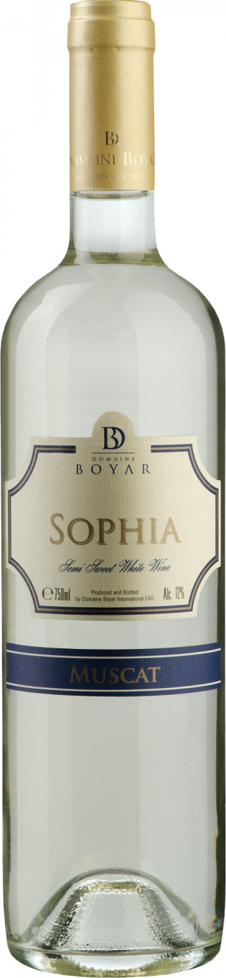 Domaine Boyar «Sophia» Muscat, белое